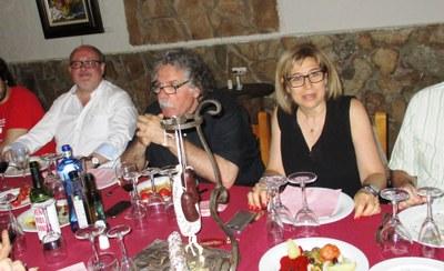 Joan Capdevila, Joan Tardà i Fina Mascaró, a Sant Miquel
