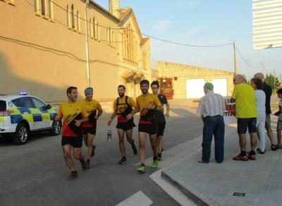 Crida per a portar la Flama del Canigó de Vilafranca a Moja