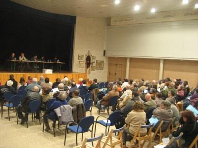 L'assemblea va reunir a 115 propietaris
