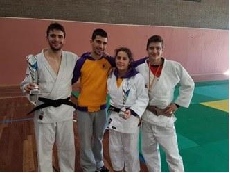 Dani Romero i Aina Cornellà, campions de Catalunya de judo en categoria júnior