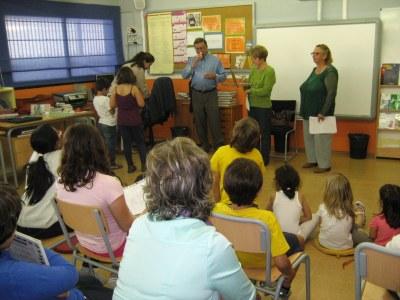 """Darrera '""""Hora del conte"""" del curs a les biblioteques des les escoles d'Olèrdola"""