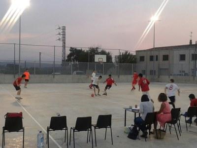 De dilluns a divendres es juga el 14è torneig de futbol sala Jordi Petit i David Raventós