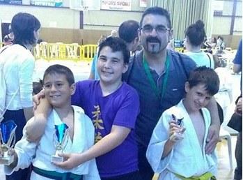 Derek Romero, en aleví, i Toni Torrents en benjamí s'han proclamat campions de Catalunya de judo