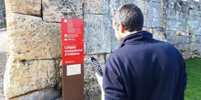 Des d'aquest mes de febrer la seu d'Olèrdola del Museu d'Arqueologia ofereix servei gratuït d'audioguia