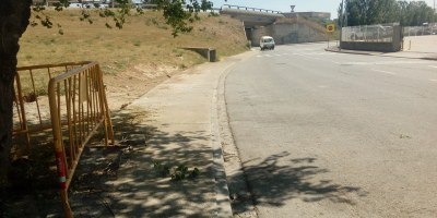 Des de dilluns 21 de juny i durant 3 setmanes es tallarà a la circulació el carrer Parellada del Clot de Moja, sota el pont de la n340