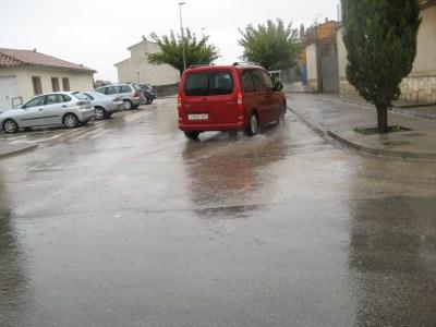Des de dissabte i fins aquest dilluns, la pluja ha deixat a Olèrdola 102 litres per metre quadrat