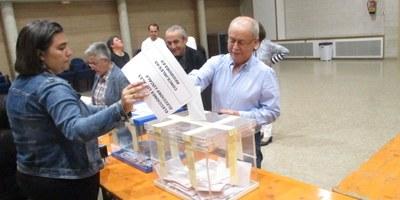 Després de votar, els quatre candidats a l'alcaldia d'Olèrdola han fet crides a la participació