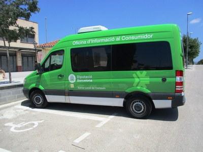 Dijous 30 de novembre visita Olèrdola l'Oficina Mòbil d'Informació al Consumidor