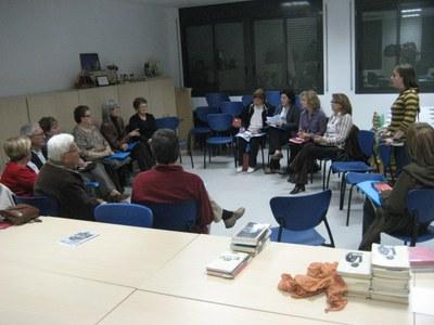 Imatge d'arxiu d'una sessió del Club de Lectura