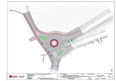 Dilluns es preveuen adjudicar les obres de construcció de la rotonda d'accés a Moja