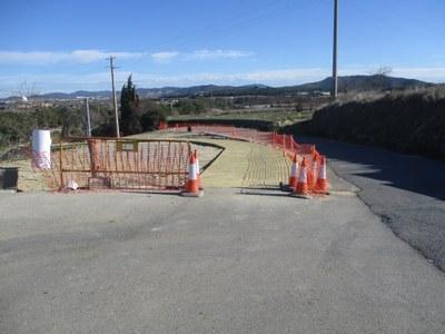 Dilluns es tallarà el vial que connecta el carrer del Camp de Moja amb la carretera de Vilafranca