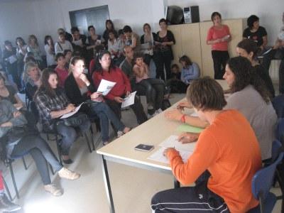 Imatge de la reunió informativa de l'any passat