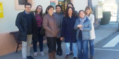 Dimarts es realitzava concentració davant de l'Ajuntament d'Olèrdola contra el judici del procés