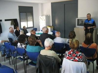 Imatge de la xerrada de l'any passat a Sant Pere Molanta