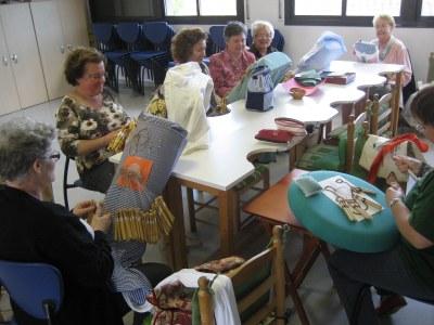 Dimecres 2 d'octubre s'inicien les classes d'aquest curs a l'escola de puntaires d'Olèrdola