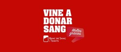 Dimecres 3 de març es podrà donar sang al Local Nou de Moja
