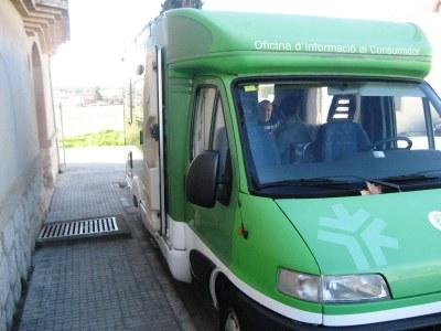 La darrera visita de l'Oficina Mòbil a Olèrdola va ser a Moja el mes de gener