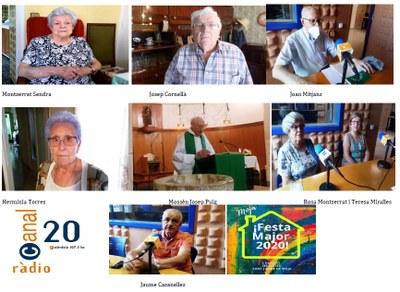 """Disponibles al servei de """"Ràdio a la Carta"""" les entrevistes del programa """"Aquelles belles històries de Festa Major"""", activitat inclosa aquest dijous en el programa de la FM de Moja"""