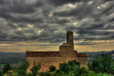 Punt d'Informació del Parc d'Olèrdola per a difondre recursos turístics del municipi