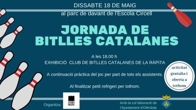 Dissabte a la tarda l'Ateneu Mogenc convoca una jornada per a difondre entre els veïns les bitlles catalanes