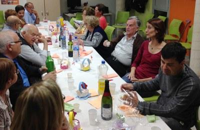 Dissabte el Casal d'Avis de Sant Miquel d'Olèrdola celebrava amb un sopar el seu tercer aniversari