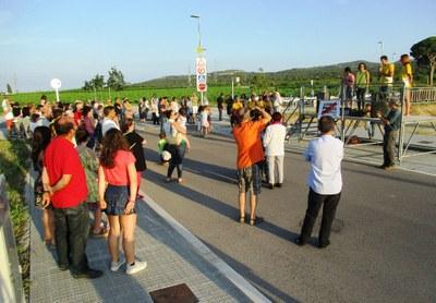 Dissabte es vivia a Moja un participatiu acte de recepció de la Flama del Canigó