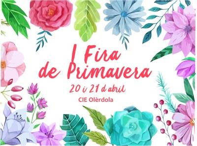 Dissabte i diumenge de la setmana que ve el CIE Olèrdola organitza la 1a Fira de Primavera