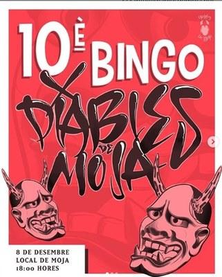 Diumenge a la tarda els Diables de Moja repartiran desenes de premis en la 10a edició del seu Bingo Popular