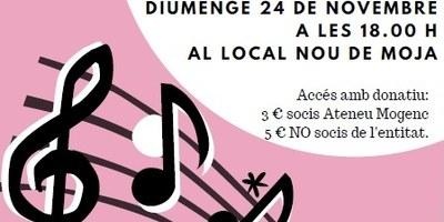 Diumenge a la tarda hi ha concert a Moja amb les corals del CEP de Vilafranca i  Gaià Gòspel