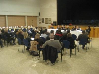 Imatge d'arxiu d'una assemblea de l'AVV La Plana Rodona