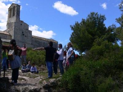 "Diumenge s'ha programat la visita ""Olèrdola, la ciutat medieval del segle XI"""