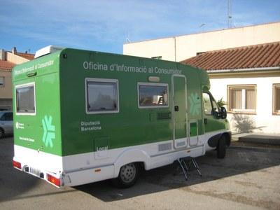Divendres 20 de desembre visita Olèrdola l'Oficina Mòbil d'Informació al Consumidor