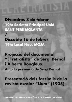 """Divendres es presenta a Sant Pere Molanta la reedició facsímil de la revista escolar """"Llum"""", elaborada per infants d'Olèrdola durant la 2a República"""