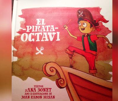 """Doble presentació del conte solidari """"El pirata Octavi"""", dilluns a Sant Pere i dimarts a Moja"""