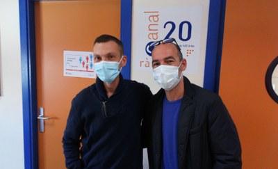 Carles Comajuncoses i Raimon Herraiz