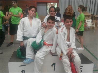 Dues medalles d'or i cinc de bronze del Judo Olèrdola en el torneig del club Bushido de Barcelona