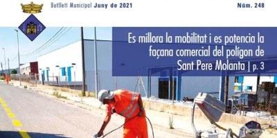 """Editat el butlletí municipal """"Olèrdola Informació"""" d'aquest mes de juny"""