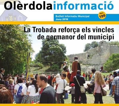 """Editat un nou número del butlletí municipal """"Olèrdola Informació"""""""