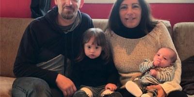 Egan Gálvez Navarro, el segon fill d'una parella de Daltmar, és el primer nadó inscrit a Olèrdola aquest 2021