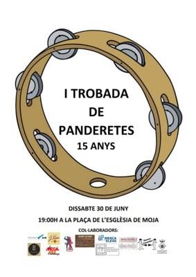 El Ball de Panderetes de Moja celebra dissabte 30 de juny el seu 15è aniversari
