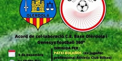 El Base Olèrdola organitza una jornada de tecnificació que serà dirigida per exjugadors professionals de futbol