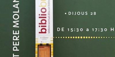 """El bibliobús """"El Castellot"""" estarà aquest dijous a Sant Pere Molanta"""