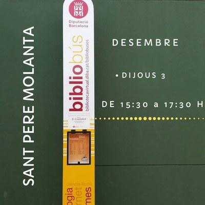 """El bibliobús """"El Castellot"""" estarà dijous a Sant Pere Molanta"""