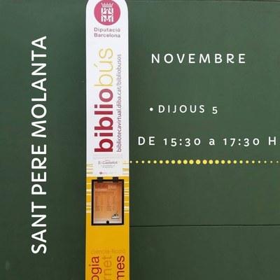 El bibliobús manté obert el servei amb horaris modificats