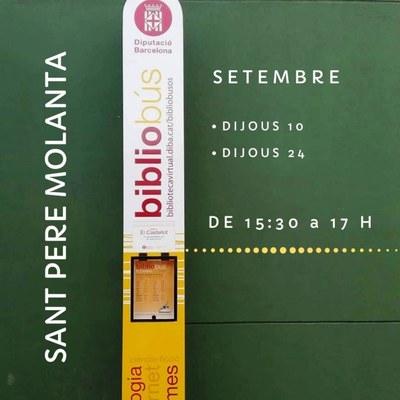 El bibliobús torna aquest mes de setembre a Olèrdola
