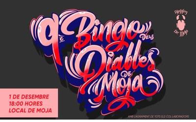 El Bingo Popular dels Diables de Moja repartirà 80 premis aquest dissabte