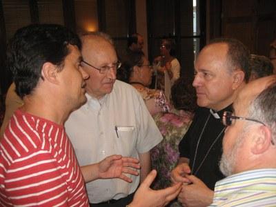 Agustí Cortès ha visitat el municipi en diferents ocasions des de l'any 2008