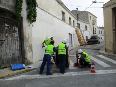 Aquest estiu el cablejat s'ha completat a Moja i a Sant Miquel