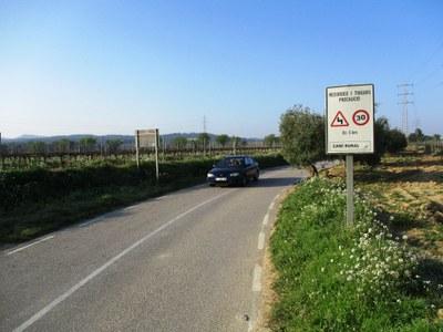 El camí de Moja a Daltmar passarà a ser carretera de la Diputació