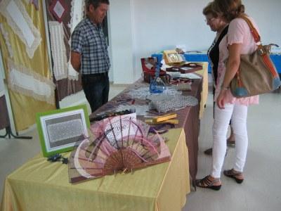 L'exposició es va instal·lar al Centre Cívic Gatzara